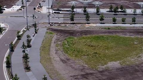 Maroochydore CBD Flyover Nov 2018