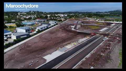 Drone 16 May 2018 Maroochydore CBD Site